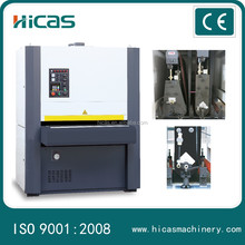 Woodworking double sides sanding machine for cabinet door