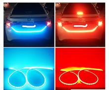 New Ice Blue and Red Multi Function LED Car Boot Light
