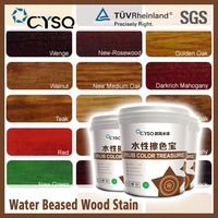 CYSQ Water Based teak wood stain paint