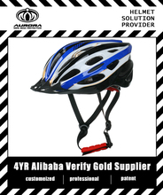 removable visor on-road or off-road bicycle helmet