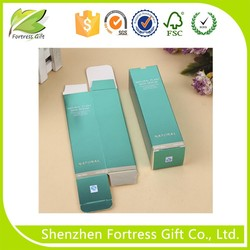 Custom foldable wallet paper packaging box