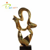 Modern stainless steel indoor art decoration metal sculptures