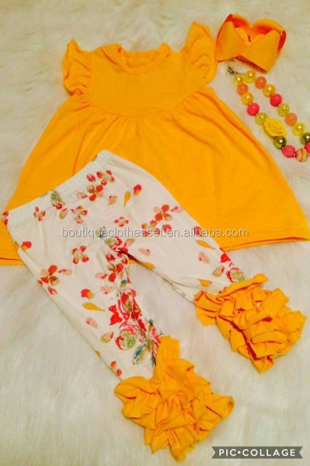 2017 blank summer boutique outfit summer boutique outfit wholesale children clothing usa