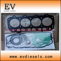 forklift engine 4D88 4D88E 4TN88 4TNV88 4TNE88 full gasket set / overhauling gasket kit