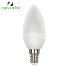 new popular E26 E27 B22 c37 high led candle light bulb with top quality