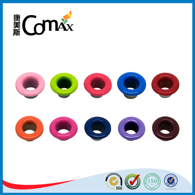 High Quality Paint Colorful Metal Grommet For Bags