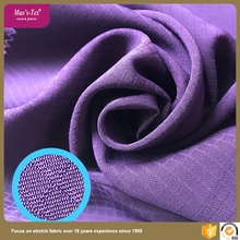 China directly supply type 150D polyester 4 way spandex twill fabric in woven