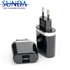 Fashionable appearance 3.1A home charger portable cell phone accessories travel charger dual usb wall charger 2 port
