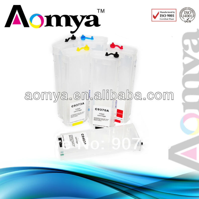 For HP72 for HP Designjet T1300 refill ink cartridge
