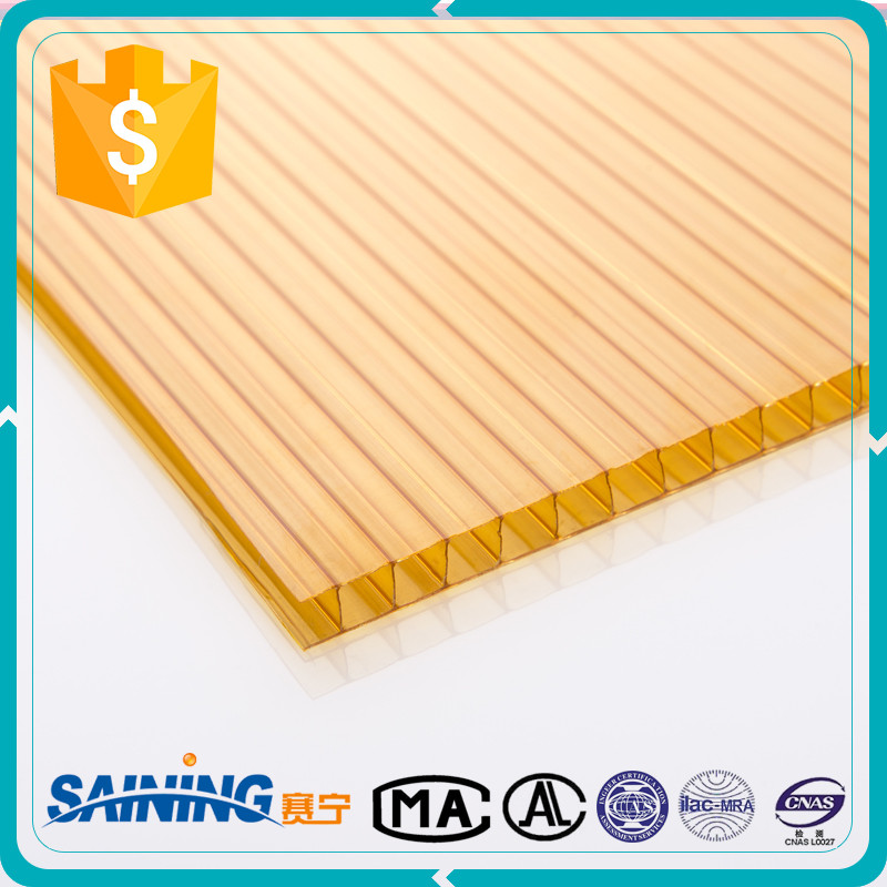 China Plastic Products Anti Scratch Sun Pack Sheet