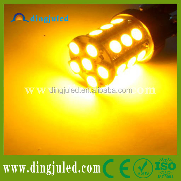 Amber yellow 3156 3157 LED bulbs for turn signal light