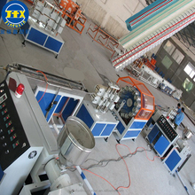 pvc cable protection architectural fiber enhancing hdpe silicone core pipe production manufacturing line making machine