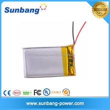 customized 3.7v 180mah li-ion battery 042030 for medical device/ led ltight
