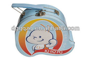 Tin Case with Plastic Handle