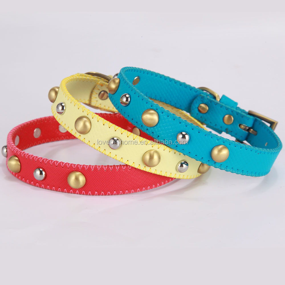 Factory price dog training accessories decorative luxury custom dog collar