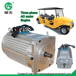 high power golf car brushless ac motor electric conversion motor for electric cart