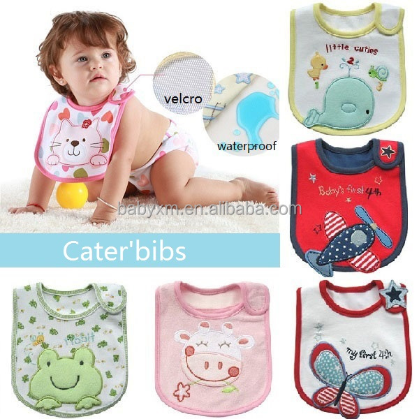 embroidery disposable waterproof baby bibs