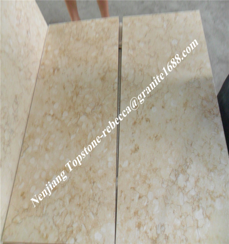 600*300mm Cheap Sunny beige yellow marble polished indoor floor wall Tiles