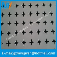 American wire fencing decorative metal perforated sheets/galvanized plate/aluminium perforated panels