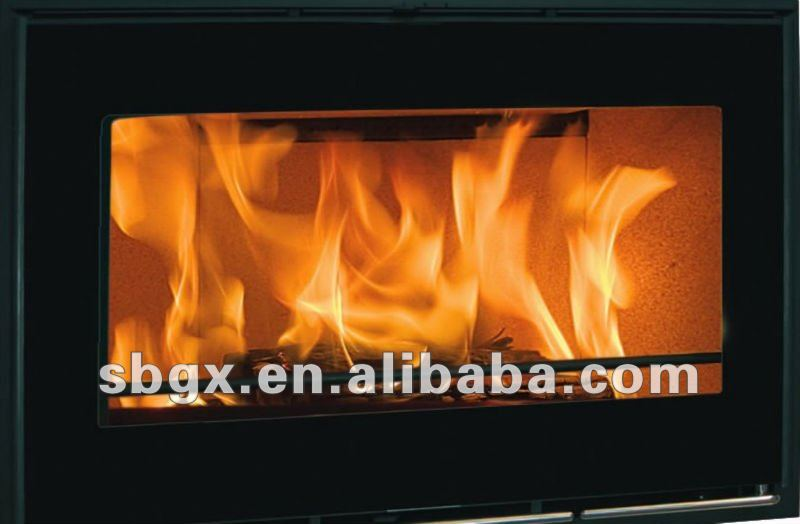 High quality and clear borosilicate glass for fireplace