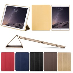 HOCO ultra- light & slim tablet leather case for ipad pro 12.9 with wake up /sleep function , for ipad pro 12.9 case leather