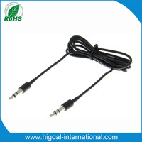 Audio streaming auxiliary audio cable with mic