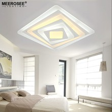 Square Acrylic LED Ceiling Light Fixture Living room Bedroom Decorative Ceiling Lamp Kitchen Lighting Luminarie MD85107