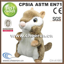 Creative best stuffed squirrel animals with plush smooth fur