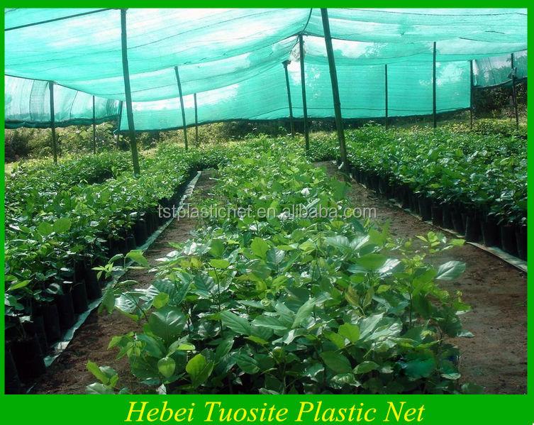 Garden Shade Net Vegetable Garden Sun Shade Netting Black Circular Eyelet Knitting Sunshade Net