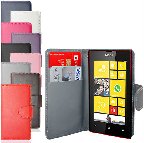 For Nokia Lumia 520 Phone leather pouch In China
