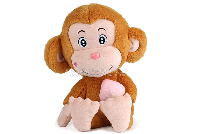 ICTI Certificated Manufacturer Animal Stuffed Monkey Custom Plush Toys for Kids