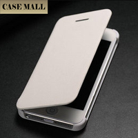 Phone case for iPhone 5, high quality phone case book cover colorful smart case for iphone5