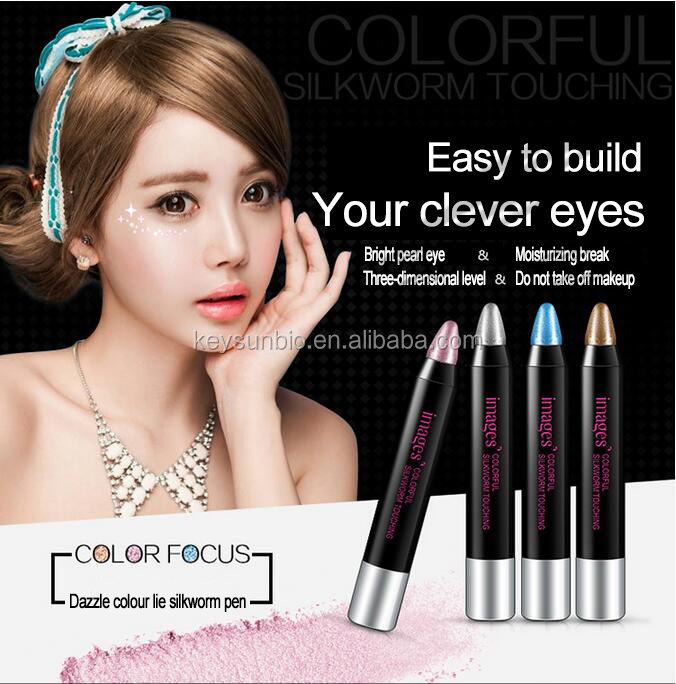 Recommend Makeup Cosmetics Double Velvet Shimmer Earth Color Eyeshadow Stick Eye Shadow Cream Pen