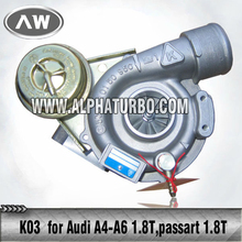 Turbo for Audi K03 Turbo Kits whole sell 058145703J