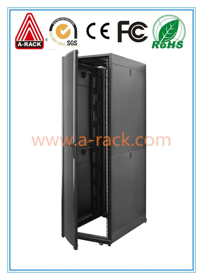 "19"" network cabinet with modular design frames"