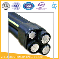4*50mm2 ABC power cable/XLPE+AAC electric cable/NFC standard