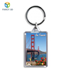 Zebulun March Expo Travel Souvenirs Clear Plastic 3D Lenticular Printed View Keychain