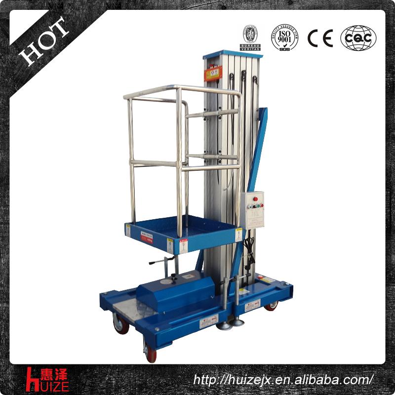 Hydraulic Vertical Lift : Portable hydraulic aluminum vertical lift platform for