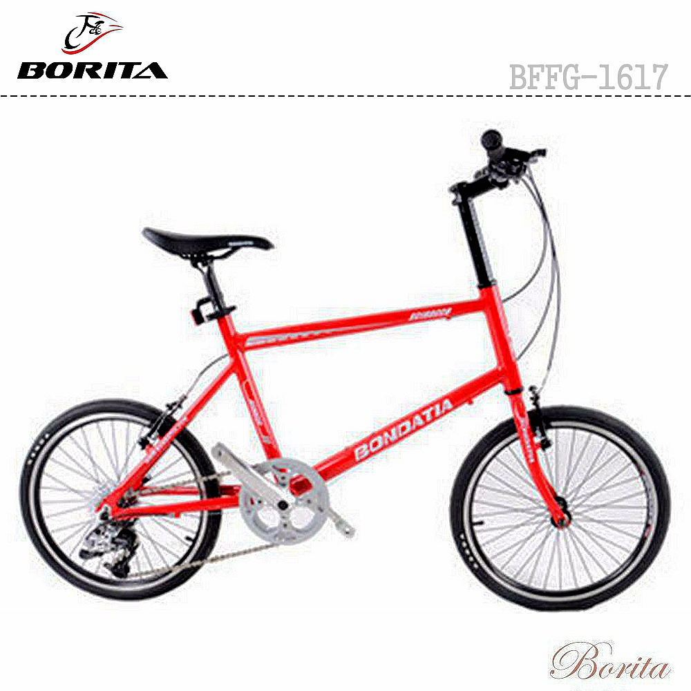OEM Borita BFFG-1617 Racing Bike Chinese 20 inch 8 Speed Mini Road Bike
