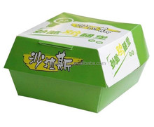 Custom cardboard cheap food packing box
