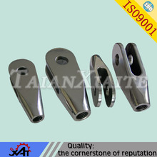 stainless steel casting lost wax precision casting for mining machinery parts transmission fork brake lever