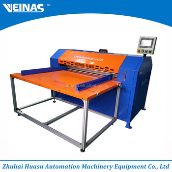 zhuhai epe foam cutting machine electric slitting machinery sheet cutting machine