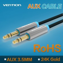 Vention 3.5mm Stereo Colorful audio to audio pvc Jack car aux composite audio cable for phone