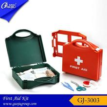 ISO CE Approval hot selling plastic box first aid kit with lock