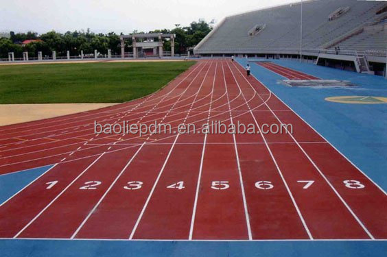 Brand new rubber running track for sports flooring tiles/ recycled rubber sports flooring with high quality