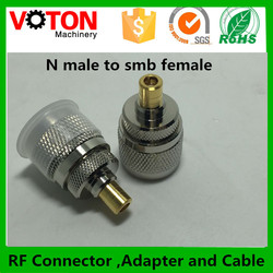 low price N male to smb female connector adapter made in china