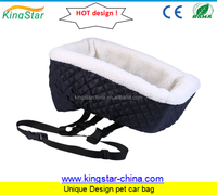 Strong travelling folding pets car seat