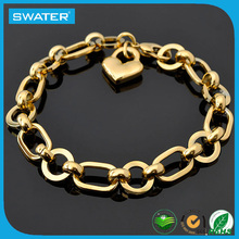 Link Chain Gold Jewelry Gold Hand Chain Bracelet
