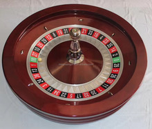 80cm Deluxe wood Roulette Wheel Solid mahogany wood wheel