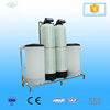 Double-valve flow-rate regeneration 3000L/hr skid-installation water softener system
